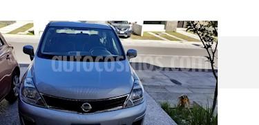 Foto venta Auto usado Nissan Tiida Sedan Custom Ac (2011) color Plata precio $98,000