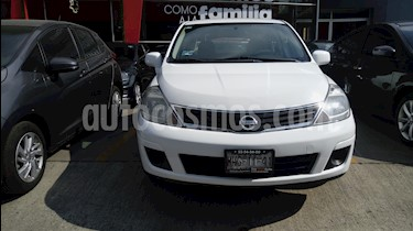 Foto venta Auto Seminuevo Nissan Tiida Sedan Custom Ac (2011) color Blanco precio $80,000