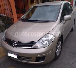 Foto venta Auto usado Nissan Tiida Sedan Custom Aut Ac (2011) color Arena precio $99,000