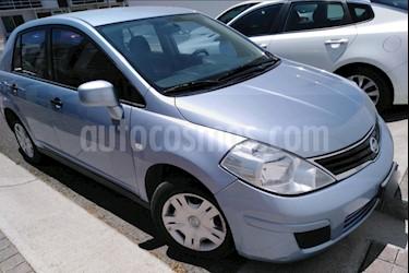 Nissan Tiida Sedan Custom Aut Ac usado (2010) color Azul precio $89,000