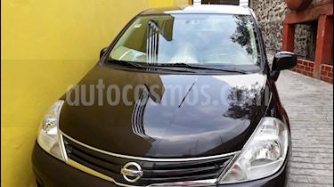 Nissan Tiida Sedan Custom Aut usado (2010) color Negro precio $90,000