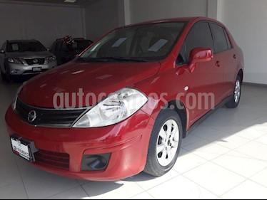 Foto venta Auto Seminuevo Nissan Tiida Sedan Custom Aut (2011) color Rojo precio $109,000