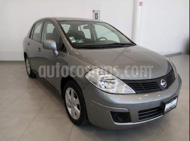 Foto venta Auto usado Nissan Tiida Sedan Custom (2012) color Gris precio $128,000