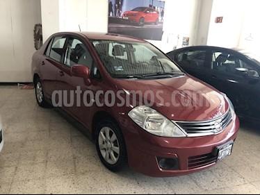 Foto venta Auto Seminuevo Nissan Tiida Sedan Custom (2011) color Rojo precio $118,000