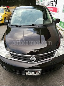 Nissan Tiida Sedan Emotion Aut usado (2010) color Negro precio $89,500