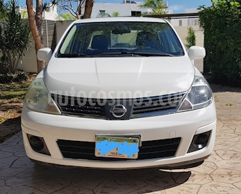 Foto venta Auto Seminuevo Nissan Tiida Sedan Emotion Aut (2008) color Blanco precio $80,000