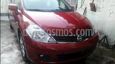 Nissan Tiida Sedan Emotion usado (2009) color Rojo precio $72,000