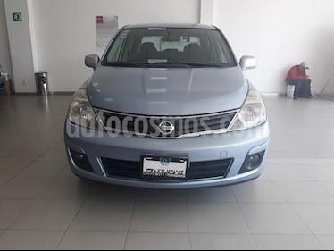 Foto venta Auto usado Nissan Tiida Sedan Emotion (2010) color Azul precio $99,999