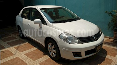 Nissan Tiida Sedan Emotion usado (2007) color Blanco precio $75,000