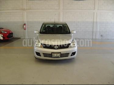 Nissan Tiida Sedan Advance usado (2017) color Plata precio $135,000