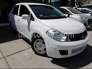 Nissan Tiida Sedan Sense Aut usado (2015) color Blanco precio $119,000