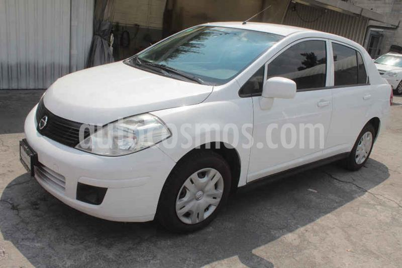 Nissan Tiida Sedan Sense usado (2013) color Blanco precio $109,000