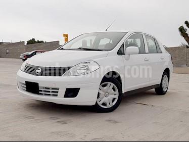 Nissan Tiida Sedan Sense usado (2017) color Blanco precio $155,000