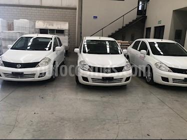 Nissan Tiida Sedan Sense usado (2015) color Blanco precio $110,000