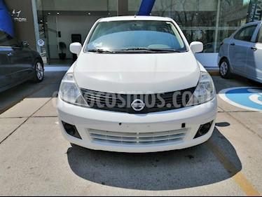 Nissan Tiida Sedan Sense Aut usado (2015) color Blanco precio $116,000