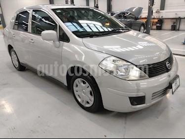 Nissan Tiida Sedan 4P SENSE TM6 A/AC. CD R-15 usado (2014) color Plata precio $105,000
