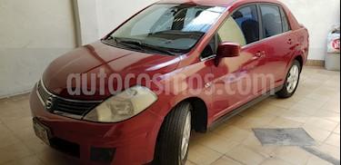 Nissan Tiida Sedan Emotion Aut usado (2010) color Rojo precio $79,000