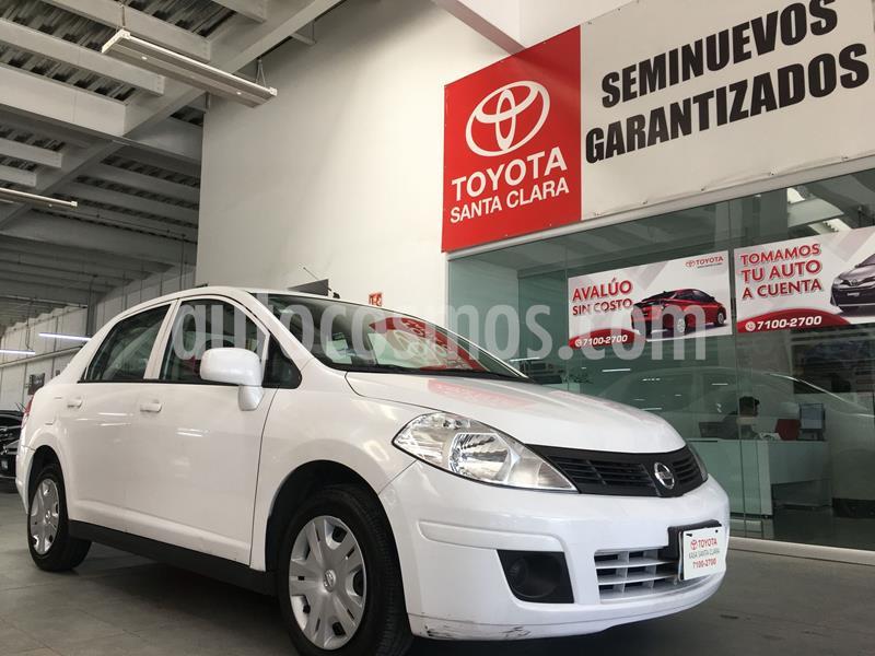 Nissan Tiida Sedan Sense usado (2017) color Blanco precio $138,000