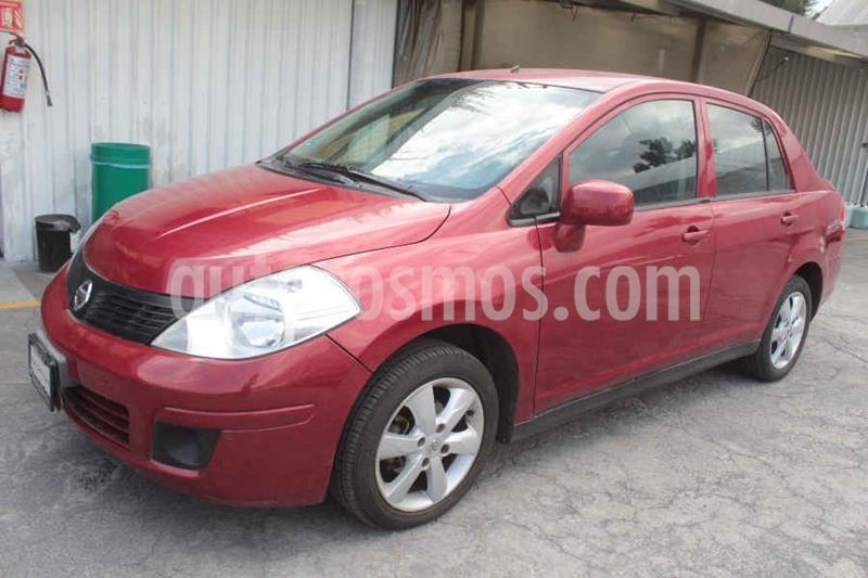 Nissan Tiida Sedan Advance usado (2016) color Rojo precio $135,000