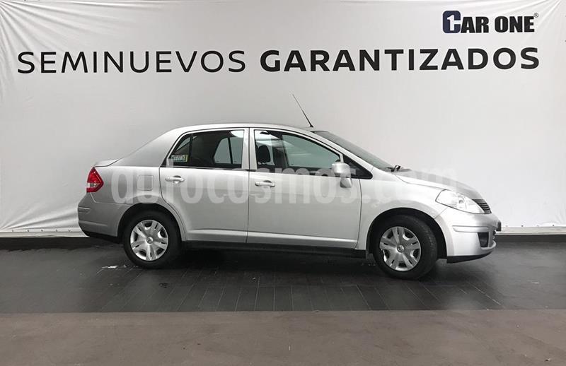 Nissan Tiida Sedan Sense Aut usado (2018) color Plata precio $154,900