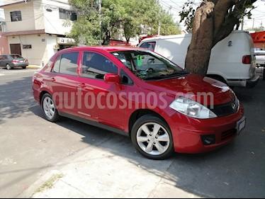 Nissan Tiida Sedan Custom Aut usado (2012) color Rojo precio $96,000