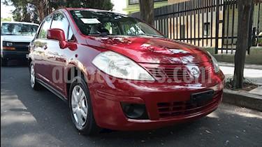 Nissan Tiida Sedan Comfort Ac usado (2012) color Rojo Burdeos precio $74,900