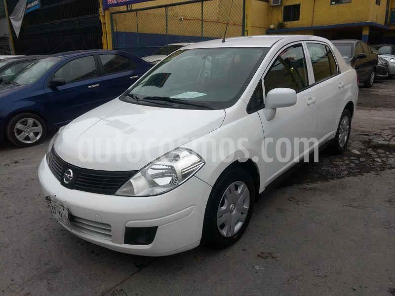 Nissan Tiida Sedan Sense usado (2016) color Blanco precio $119,000