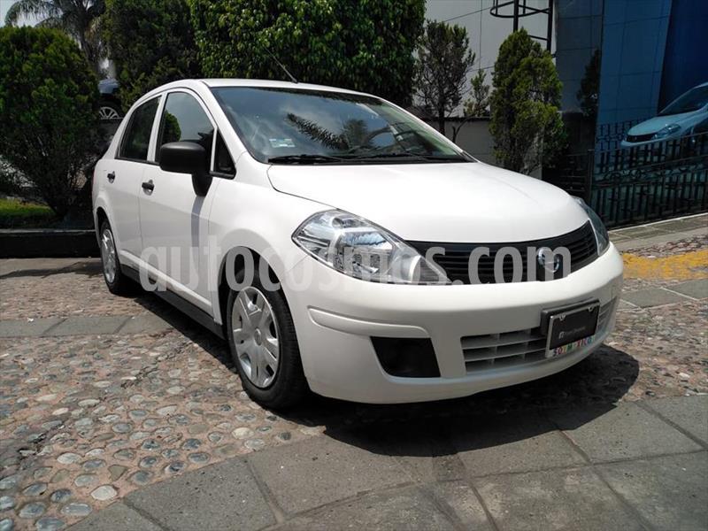 Nissan Tiida Sedan DRIVE TM AC usado (2018) color Blanco precio $145,000
