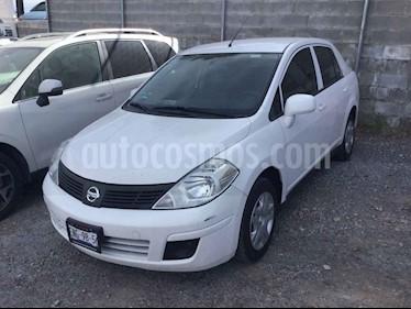 Nissan Tiida Sedan Sense usado (2015) color Blanco precio $123,000