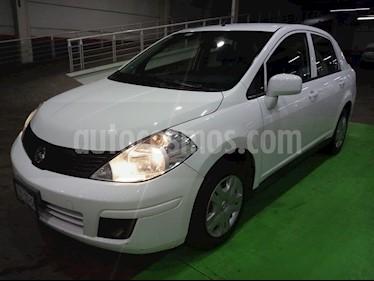 Nissan Tiida Sedan Sense usado (2015) color Blanco precio $139,000