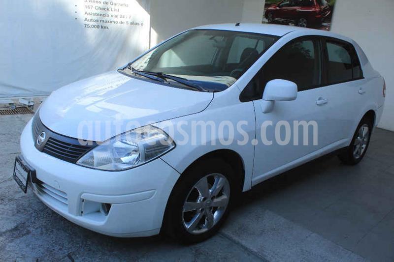 Nissan Tiida Sedan Advance usado (2015) color Blanco precio $129,000