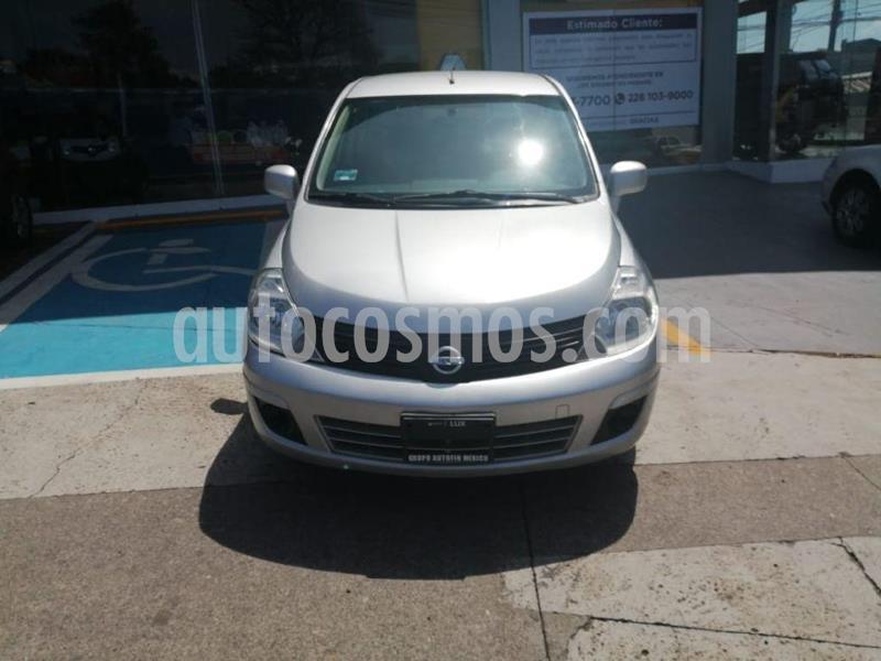 Nissan Tiida Sedan Sense usado (2015) color Plata precio $110,000