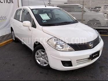 Nissan Tiida Sedan Sense Aut usado (2018) color Blanco precio $165,000