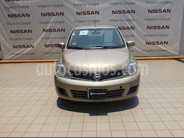 Nissan Tiida Sedan Sense Aut usado (2013) color Arena precio $115,000
