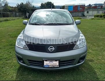 Nissan Tiida Sedan SENSE TM usado (2017) color Plata precio $139,000