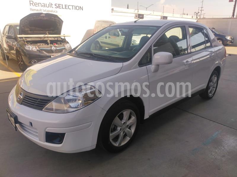 Nissan Tiida Sedan Advance usado (2017) color Blanco precio $153,000