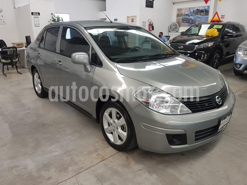 Nissan Tiida Sedan Advance Aut usado (2017) color Gris Oxford precio $158,900