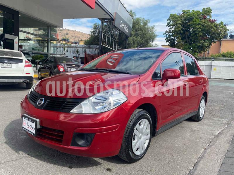 Nissan Tiida Sedan Sense Aut usado (2017) color Rojo precio $143,000