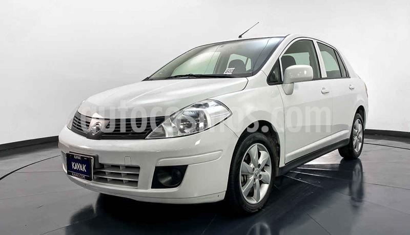 Nissan Tiida Sedan Advance Aut  usado (2018) color Blanco precio $174,999
