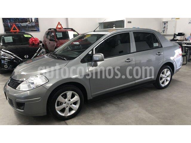 Nissan Tiida Sedan Advance Aut usado (2017) color Gris precio $159,000