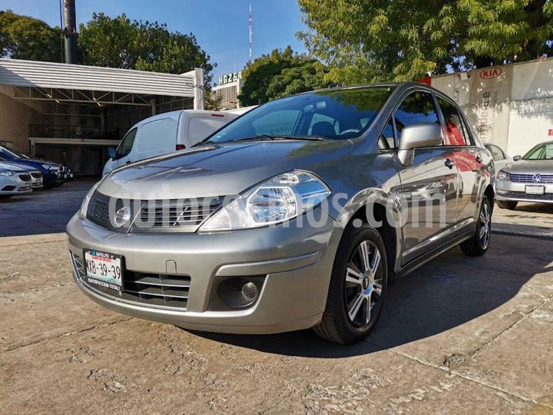 Nissan Tiida Sedan Sense usado (2016) color Gris precio $135,000