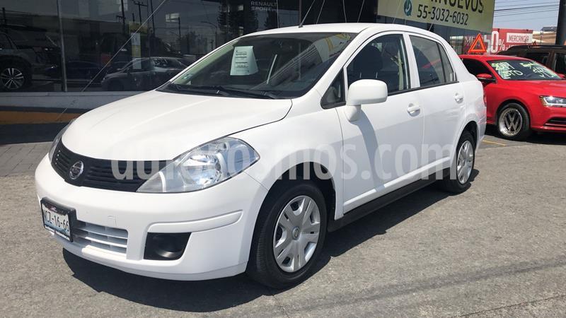 Nissan Tiida Sedan Sense usado (2018) color Blanco precio $152,000