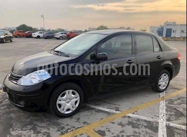 Nissan Tiida Sedan Comfort Ac usado (2012) color Negro precio $85,000
