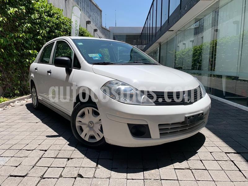 Nissan Tiida Sedan Drive usado (2015) color Blanco precio $105,000