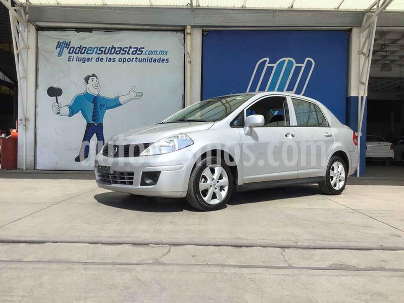 Nissan Tiida Sedan Advance usado (2016) color Plata precio $76,000