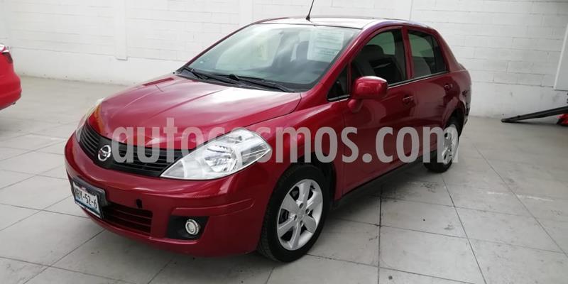 Nissan Tiida Sedan Advance usado (2018) color Rojo Burdeos precio $158,000