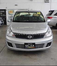 Nissan Tiida Sedan Sense usado (2016) color Plata precio $129,000