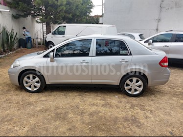Nissan Tiida Sedan Advance usado (2016) color Plata precio $119,000