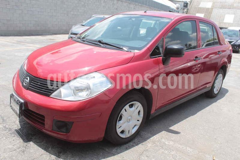 Nissan Tiida Sedan Drive usado (2016) color Rojo precio $132,000