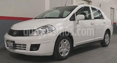 Nissan Tiida Sedan 4P SEDAN SENSE L4/1.8 AUT usado (2016) color Blanco precio $145,000